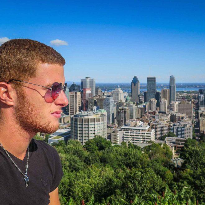 Montréal Depuis le Mont-Royal - Mon Histoire