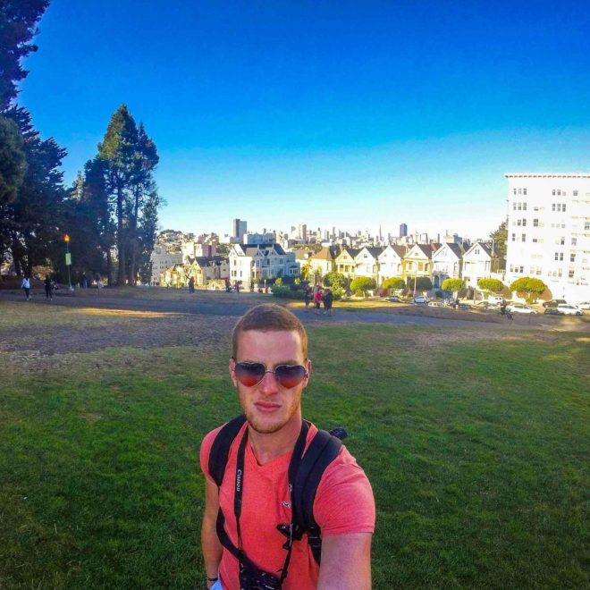 Alamo Square à San Francisco  - Mon Histoire