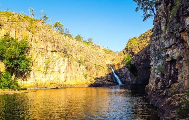 Chûte d'eau au parc national de Kakadu