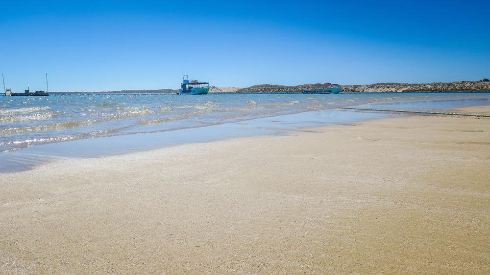 Plage de Coral Bay, Australie-Occidentale