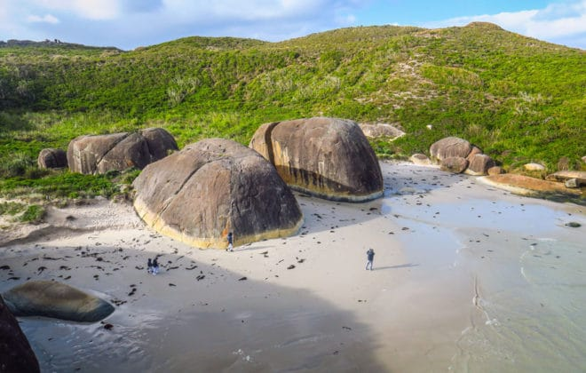 Elephant Rocks à Denmark en Australie-Occidentale
