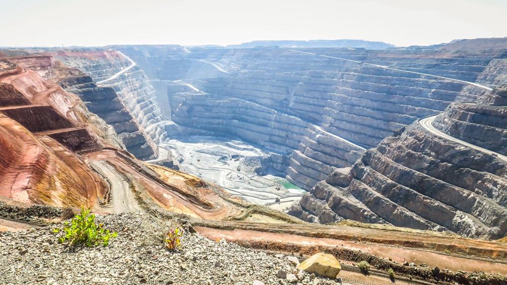 Mine d'Or Super Pit à Kalgoorlie