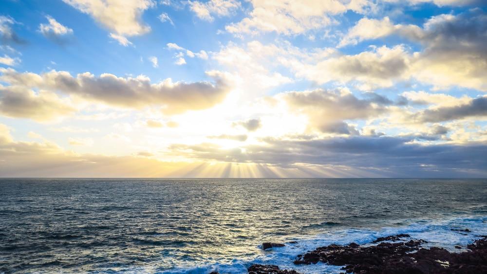 Coucher de soleil à Yallingup en Australie-Occidentale