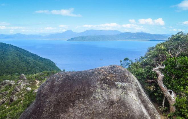 Sommet de Fitzroy Island à Cairns
