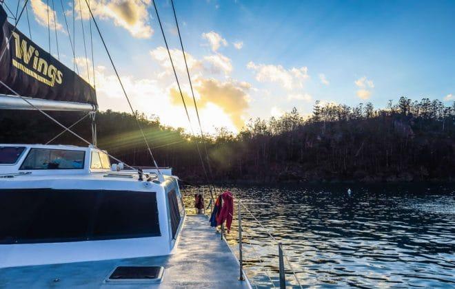 Lever de soleil dans les Whitsundays