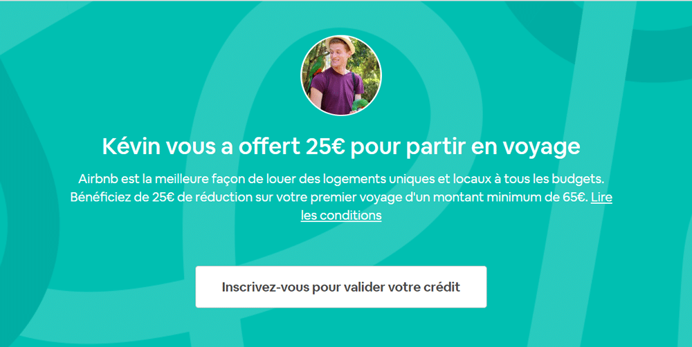 Réduction 25€ Code Promo Airbnb