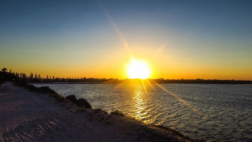 Coucher de soleil Yamba