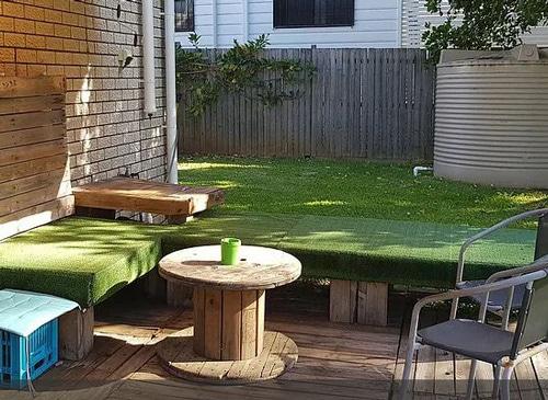 La terrasse de Gizelle à Brisbane