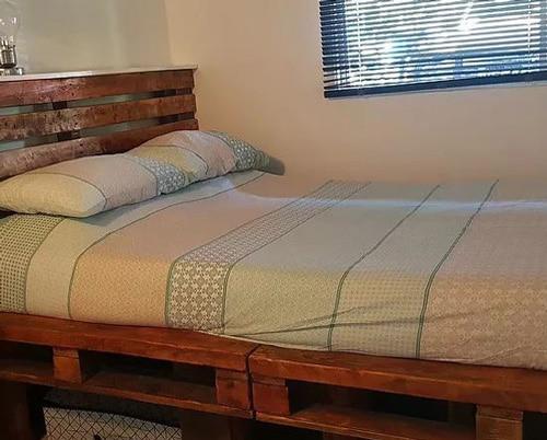 Une des chambres de Gizelle à Brisbane